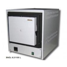 Муфельная печь SNOL 8,2/1100L (до 1100 °С, термоволокно, электронный терморегулятор)